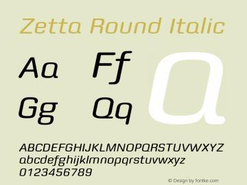 Zetta Round