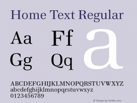 Home Text