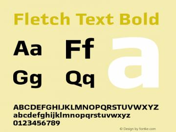 Fletch Text