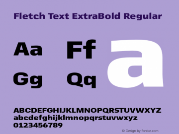 Fletch Text ExtraBold