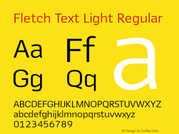 Fletch Text Light