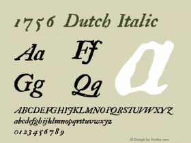 1756 Dutch