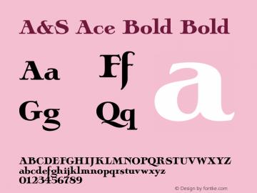 A&S Ace Bold