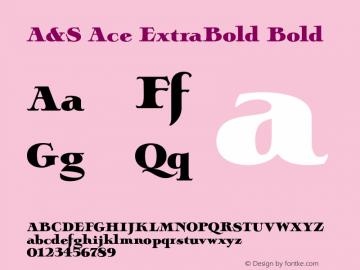 A&S Ace ExtraBold