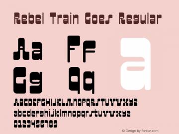 Rebel Train Goes