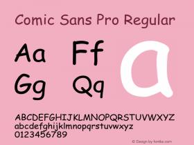 Comic Sans Pro
