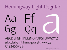 Hemingway Light