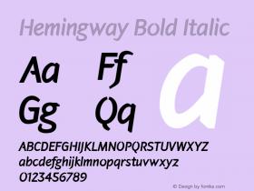 Hemingway Bold
