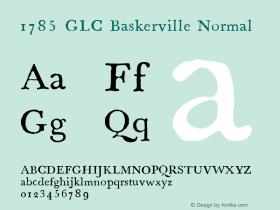 1785 GLC Baskerville
