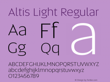 Altis Light