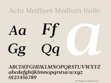 Acta Medium