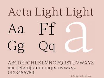 Acta Light