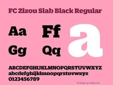 FC Zizou Slab Black