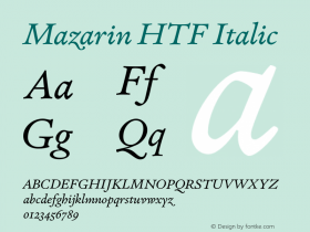 Mazarin HTF