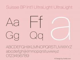 Suisse BP Int'l UltraLight