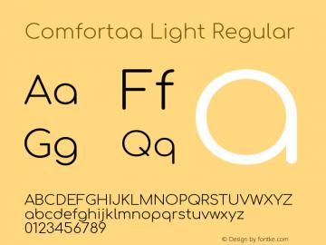 Comfortaa Light