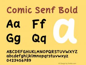 Comic Senf