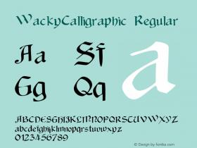 WackyCalligraphic
