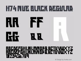 H74 Nue Black
