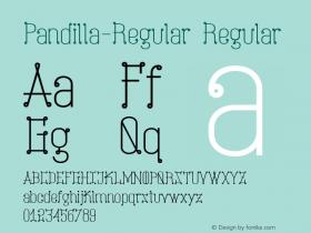 Pandilla-Regular