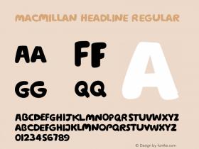 Macmillan Headline