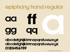 Epiphany Hand