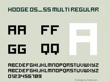 Hooge 05_55 Multi