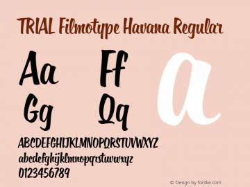 Filmotype Havana