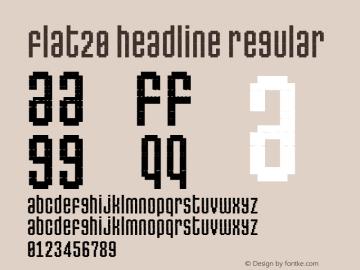 Flat20 Headline