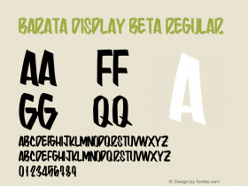 Barata Display Beta