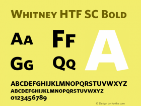 Whitney HTF SC