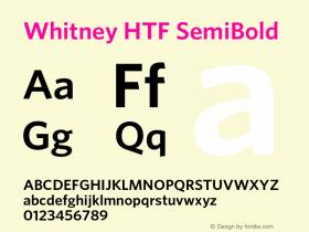Whitney HTF