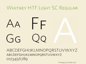 Whitney HTF Light SC