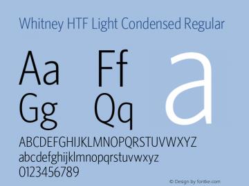 Whitney HTF Light Condensed