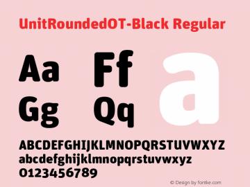 UnitRoundedOT-Black