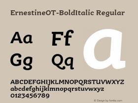 ErnestineOT-BoldItalic