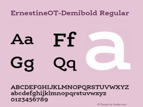 ErnestineOT-Demibold