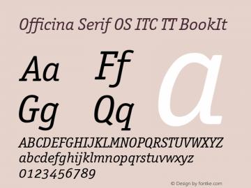 Officina Serif OS ITC TT
