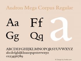 Andron Mega Corpus
