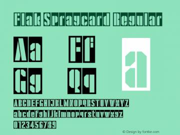 Flak Spraycard
