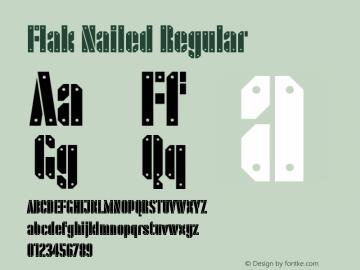 Flak Nailed