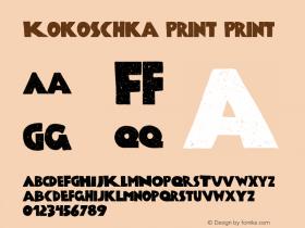 Kokoschka Print