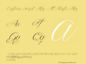 Centeria Script Thin Alt Slante