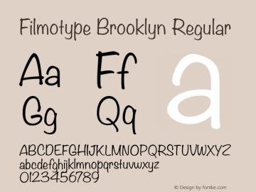 Filmotype Brooklyn