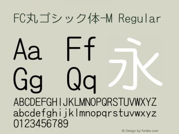 FC丸ゴシック体-M