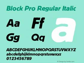 Block Pro Regular