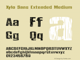 Xylo Sans Extended