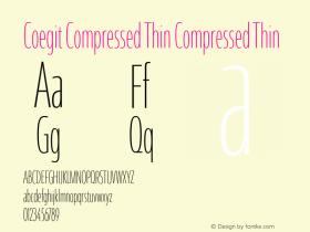 Coegit Compressed Thin