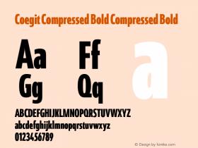 Coegit Compressed Bold