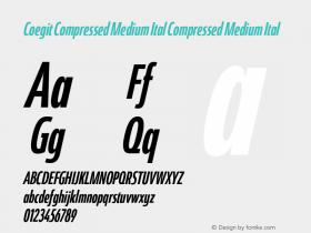Coegit Compressed Medium Ital